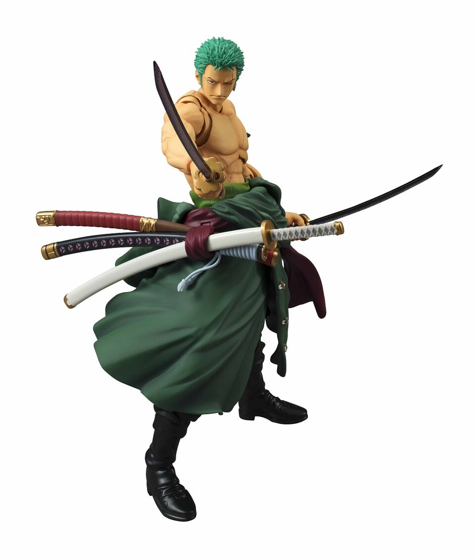 Roronoa Zoro (Re-Run) One Piece VAH Figure 4535123819025