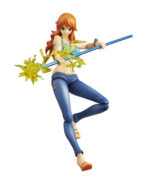 Nami (Re-run) Variable Action Heroes One Piece Figma Figure