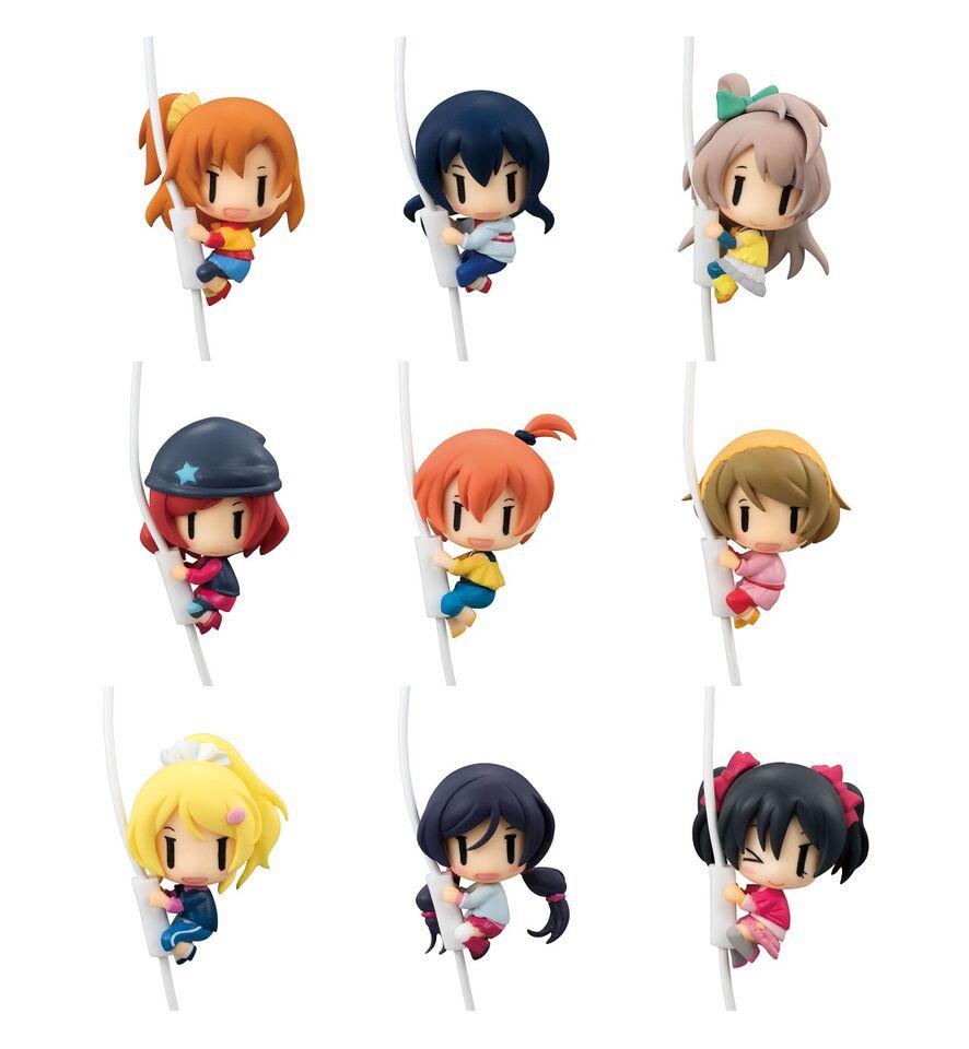 Love Live Cord Mascot Figures 4535123820311
