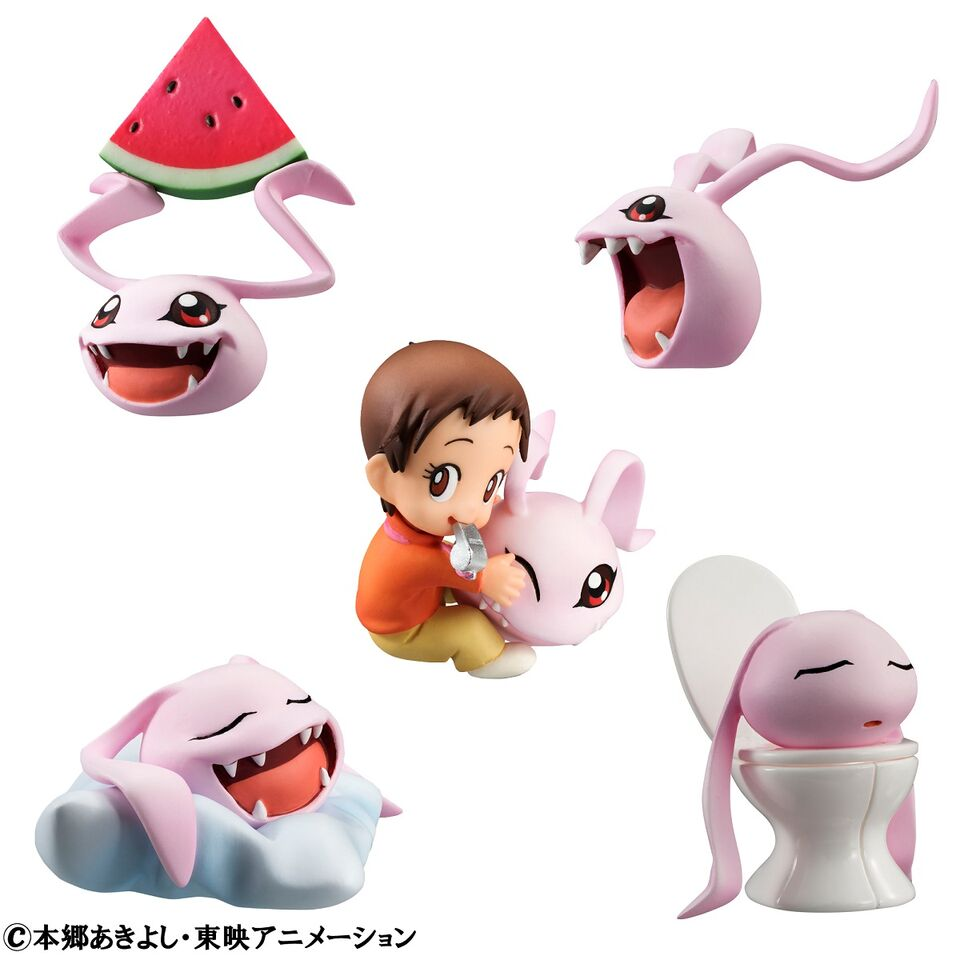 Coro Colle Digimon Adventure Figures 45351238202601