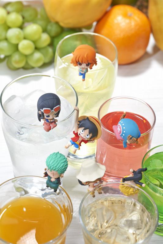 One Piece Pirate's Tea Time Ochatomo Figures 4535123820731