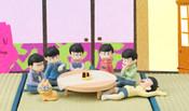 Osomatsu-san Premium Palmate Petite Figures