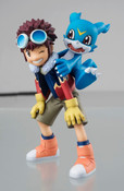 Motomiya Daisuke and Veemon Digimon Adventure GEM Series Figure