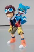 Motomiya Daisuke and Veemon Digimon Adventure GEM Series Figure