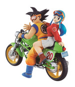 Goku and Chichi Desktop Real McCoy Dragon Ball Figure