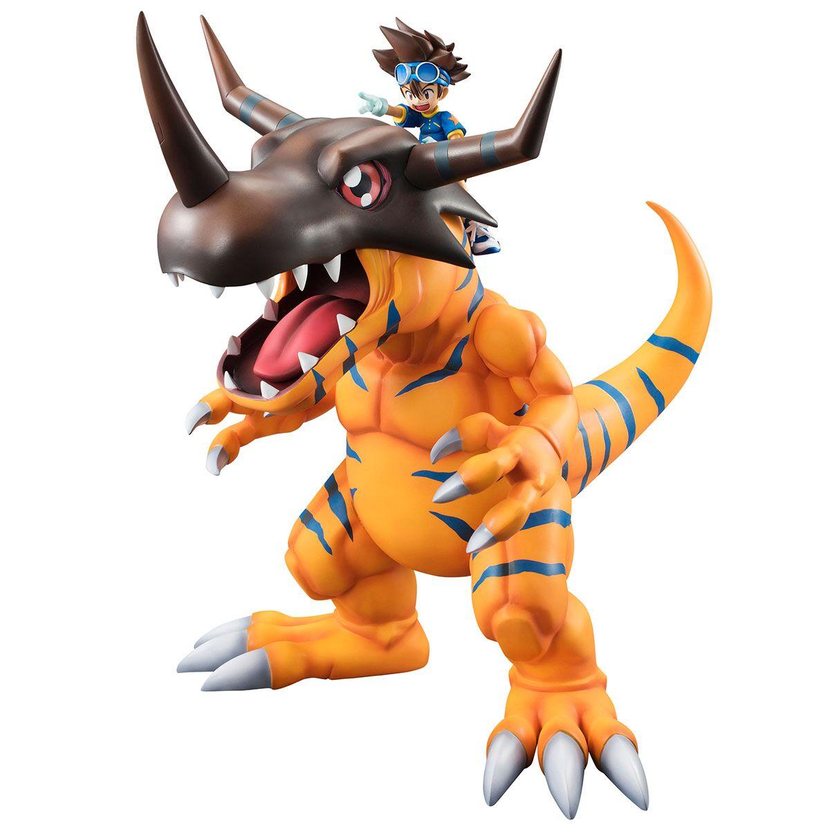 Greymon & Yagami Taichi Digimon Adventure G.E.M. Series Figure 4535123822124