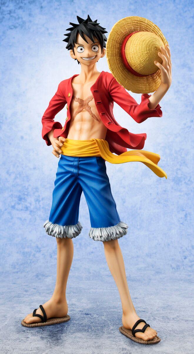 Luffy ver 2 (Re-run) Portrait of Pirates One Piece Figure 4535123822698