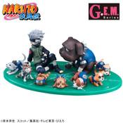 Kakashi & Ninken Naruto GEM Series Figure