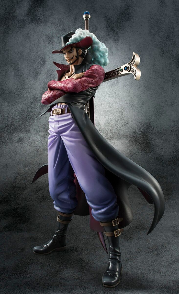 Dracule Mihawk One Piece Portrait of Pirates DX Figure 4535123823817