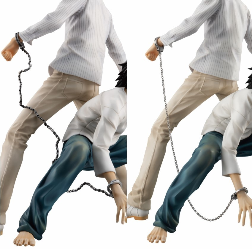 Yagami Light and L Death Note GEM Series Figure
