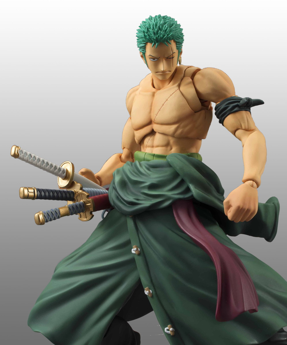 Roronoa Zoro (Re-run) Variable Action Heroes One Piece Figma Figure