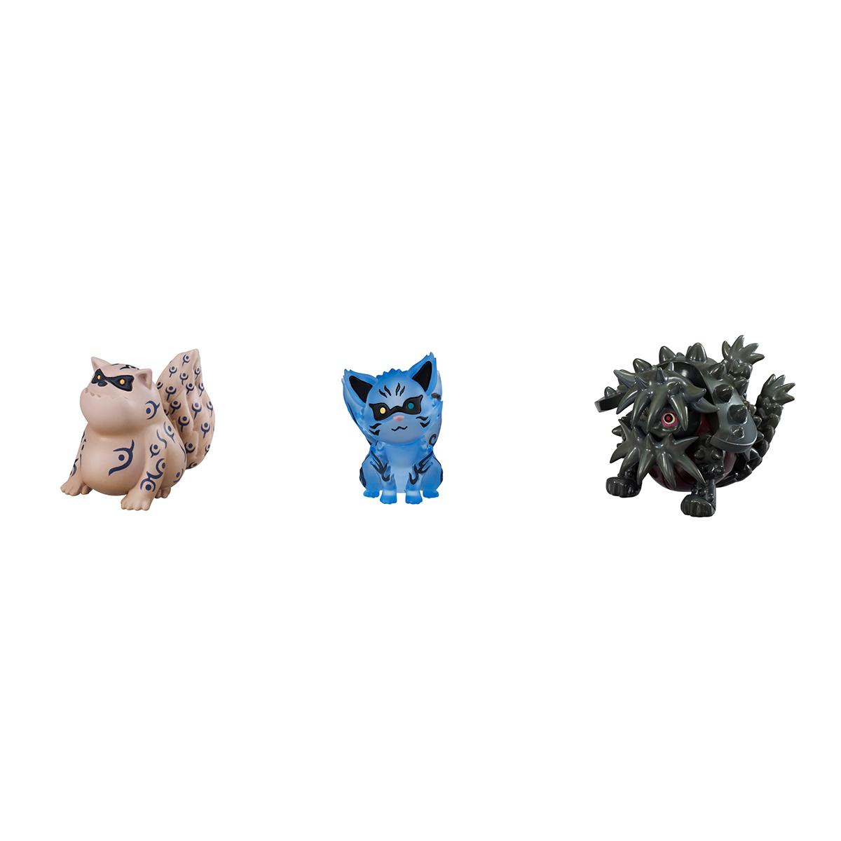 Naruto and Tailed Beasts Naruto Figure Set