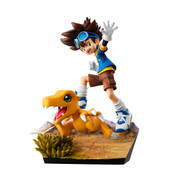 Taichi and Agumon 20th Anniversary Ver Digimon GEM Series Figure