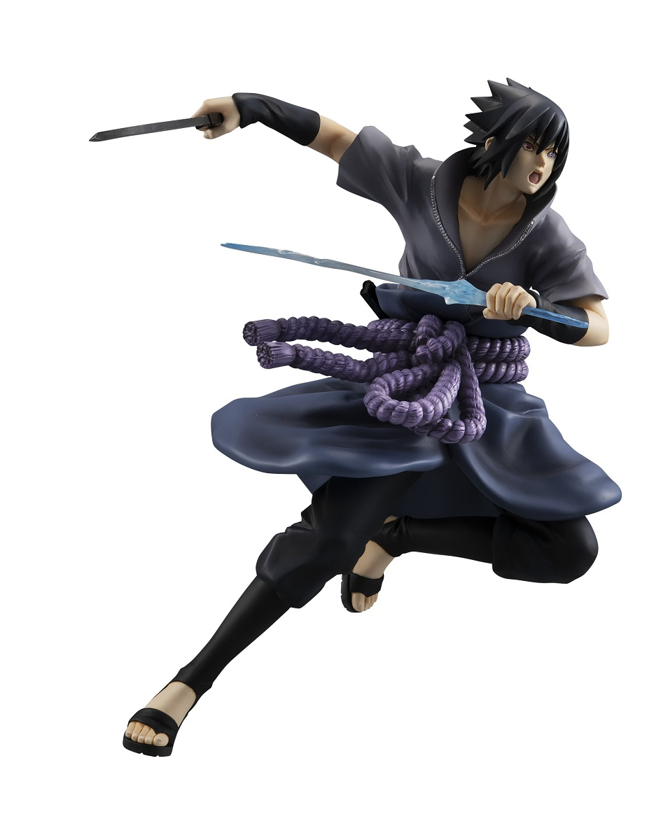 Sasuke Uchiha Shinobi World War Ver GEM Series Naruto Figure