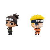 Iruka and Naruto Chimimega Series Naruto Figure Set