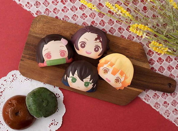 Demon Slayer Fluffy Squeeze Bread Blind Box