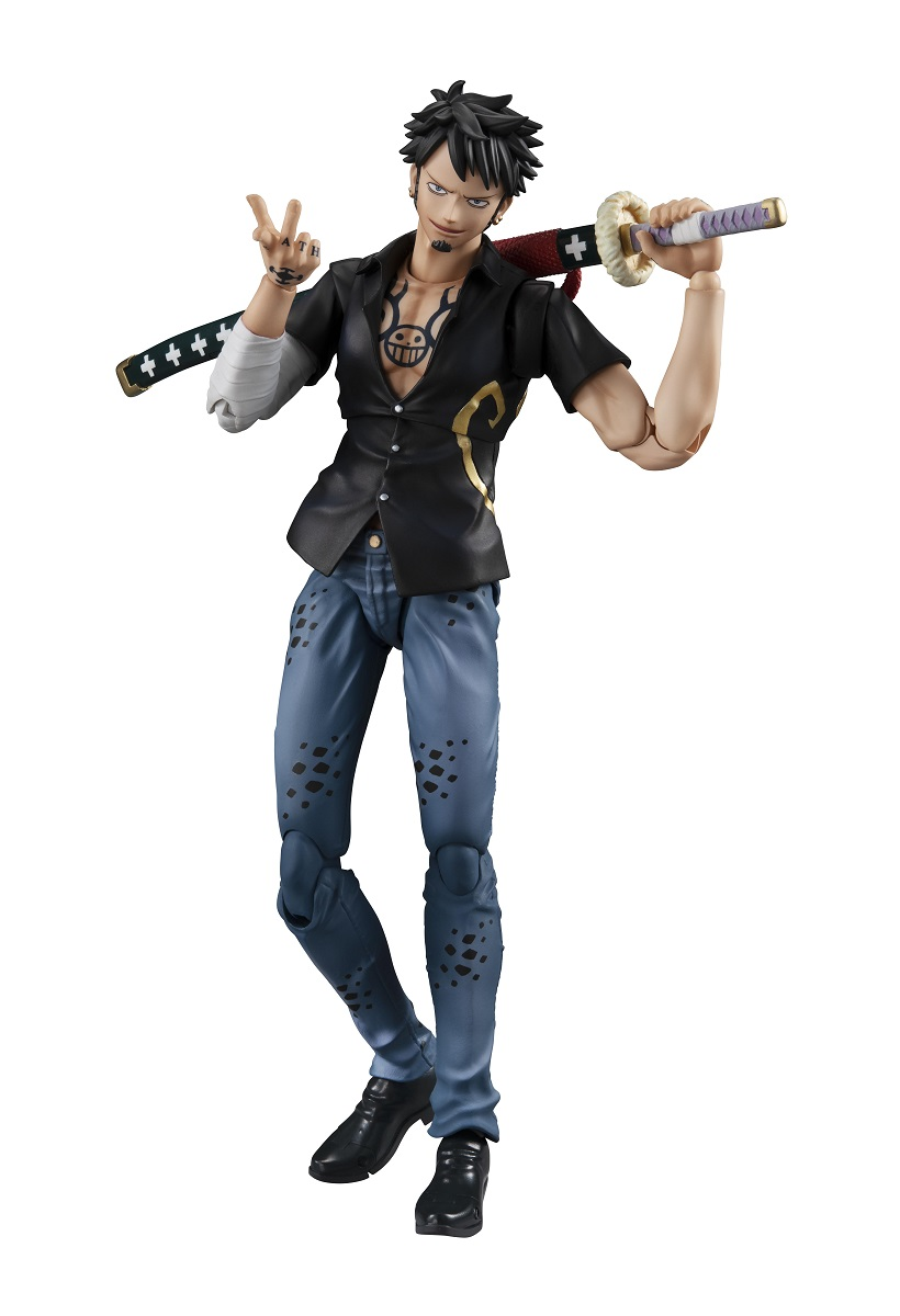 Trafalgar Law Variable Action Heroes One Piece Figma Figure