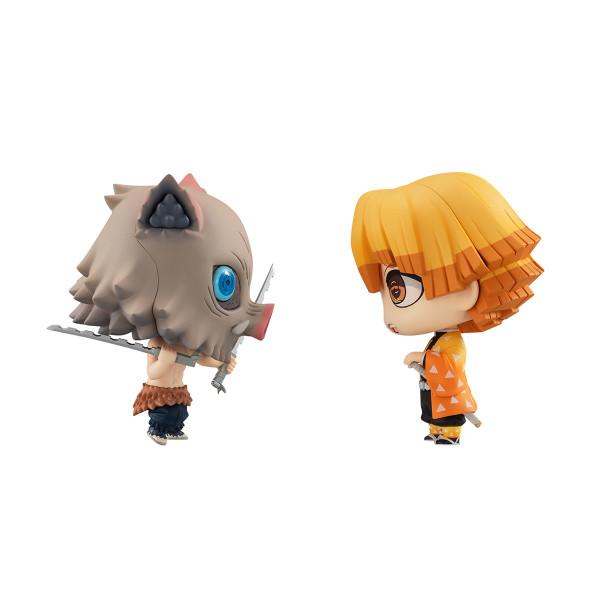 Zenitsu and Inosuke Chimimega Series Demon Slayer Figure Set