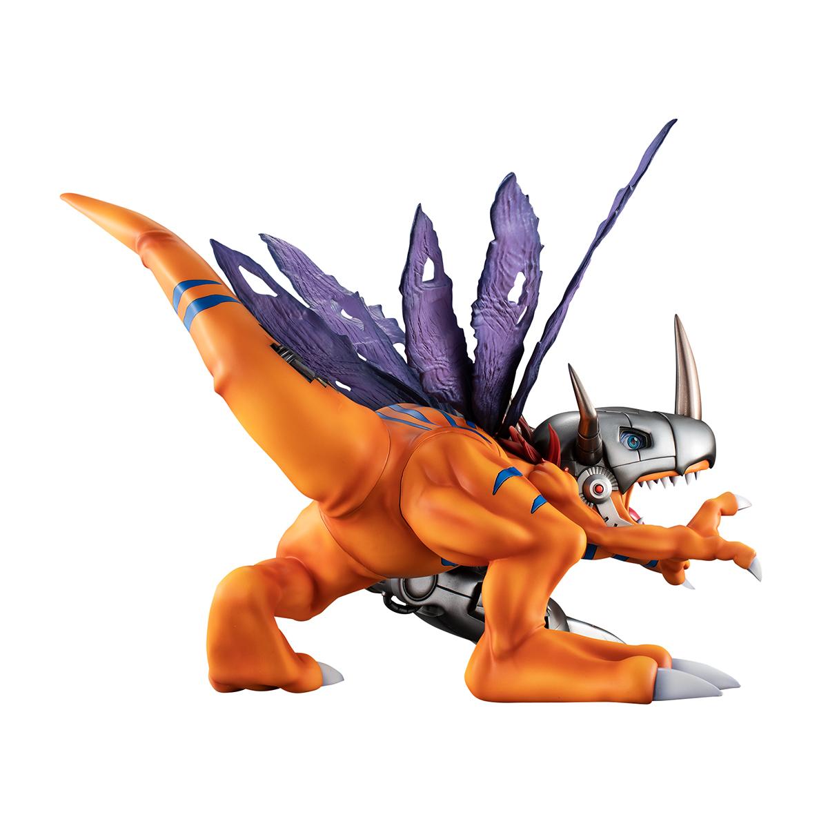 Metal Greymon Digimon Adventure Precious GEM Series Figure