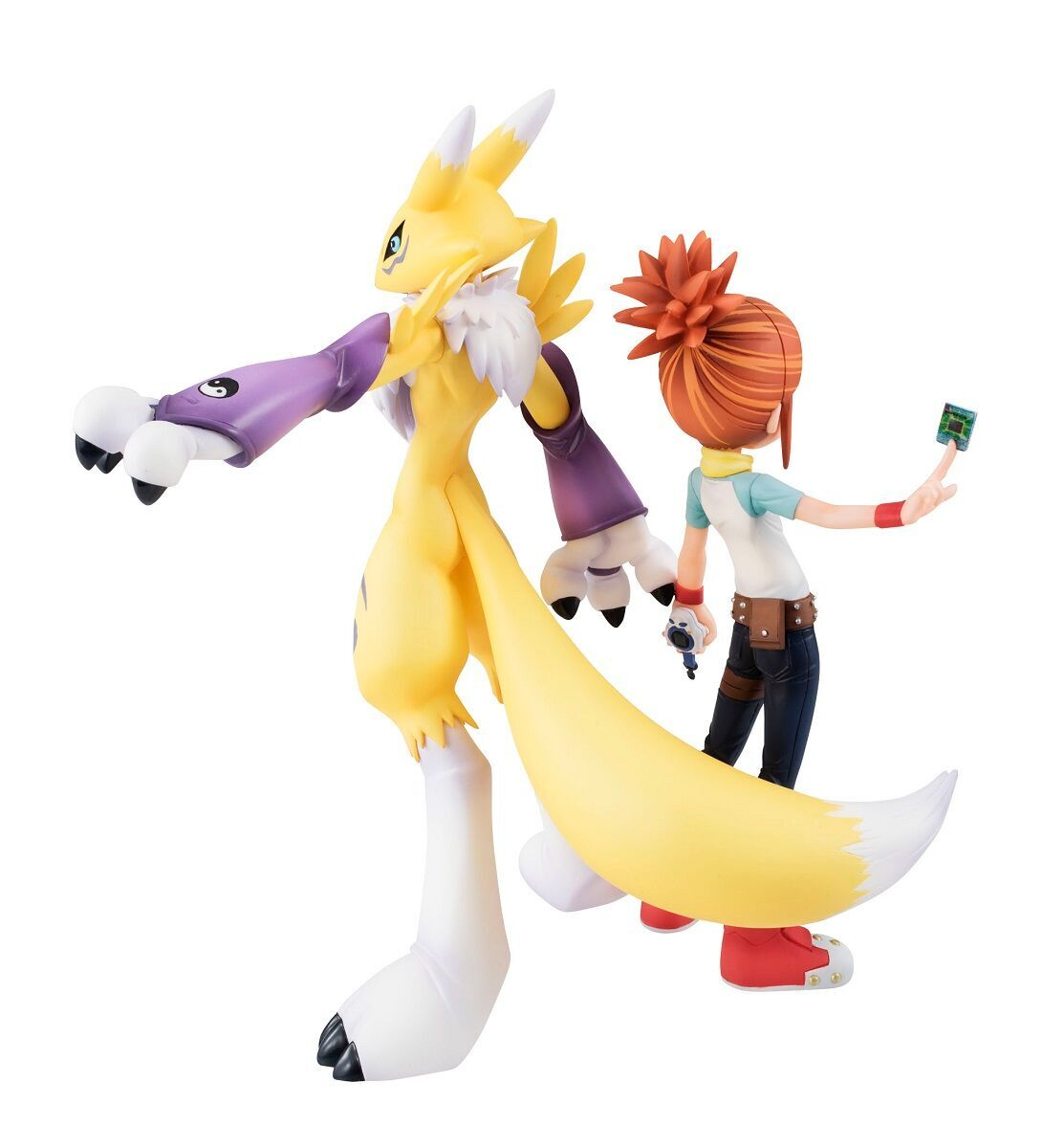 Renamon and Ruki Makino (Re-run) Digimon GEM Series Figure