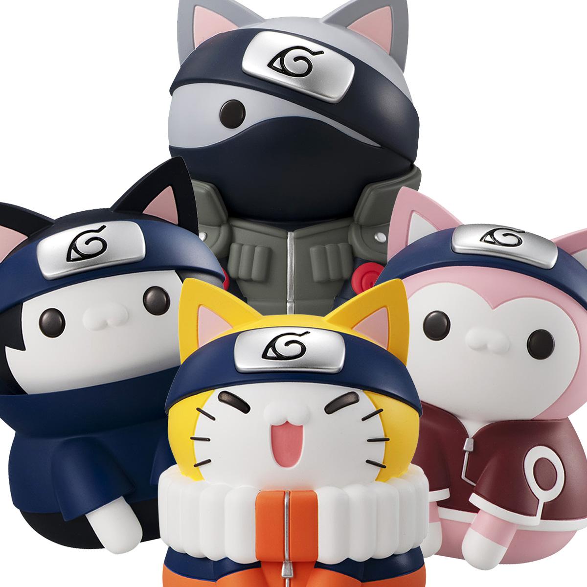 Kakashi Hatake Nyanto! The Big Nyaruto Series Naruto Shippuden Figure