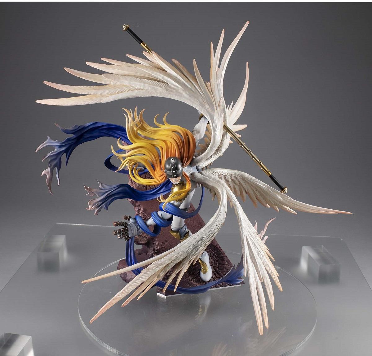 Angemon 20th Anniversary Ver Digimon Adventure Precious GEM Series Figure