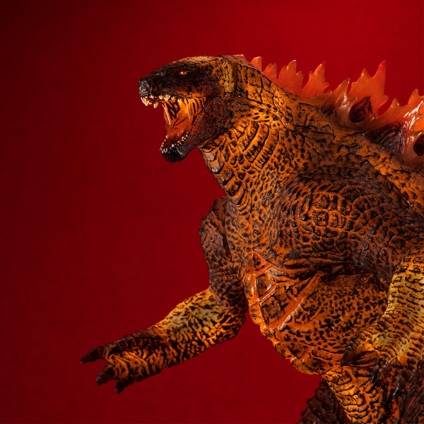 Godzilla Burning Ver Godzilla King of the Monsters Statue