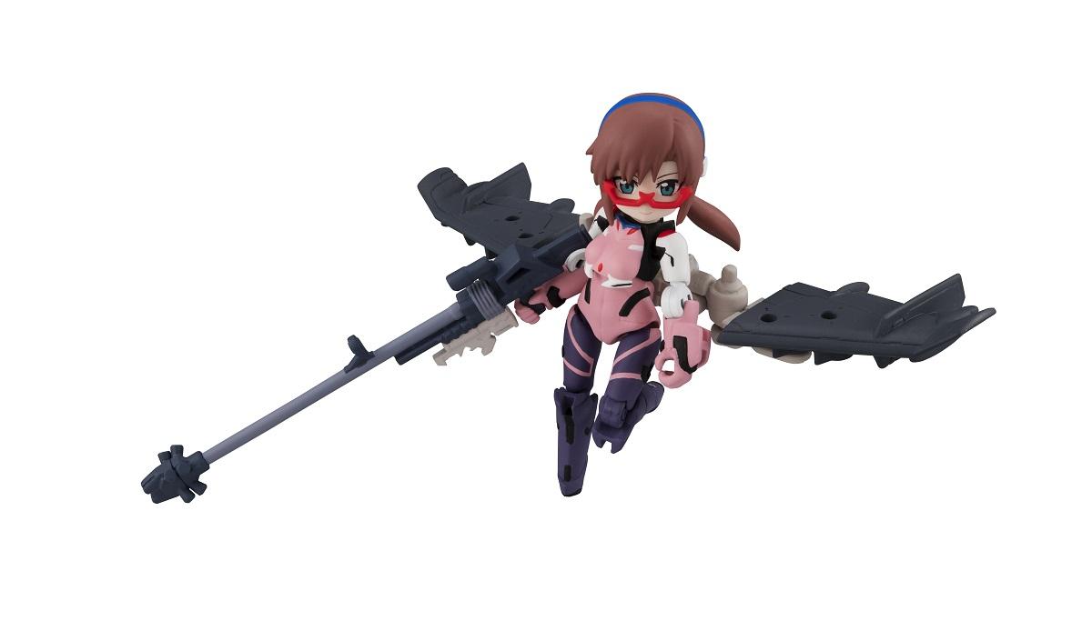 Evangelion Movie Ver DESK TOP ARMY Figure Blind Box