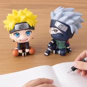 Naruto & Kakashi Look Up Series Naruto Figure Set with Gift