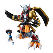 Wargreymon & Taichi Yagami (Re-run) Digimon Adventure Precious GEM Series Figure