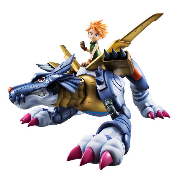 Metal Garurumon & Ishida Matt Yamato (Re-run) Digimon Adventure Precious GEM Series Figure