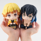 Zenitsu & Inosuke Look Up Series Demon Slayer Figure Set With Gift