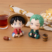 Luffy & Zoro Look Up Series One Piece Figure Set with Gift