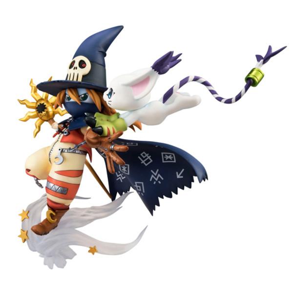 Wizarmon & Tailmon (Re-run) Digimon GEM Series Figure