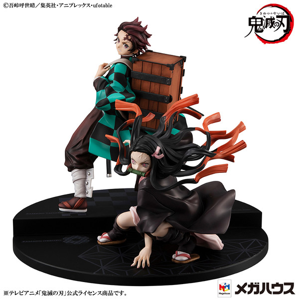 Tanjiro & Nezuko Kamado Demon Slayer Precious GEM Series Figure Set