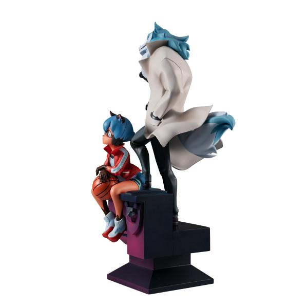 Kagemori Michiru & Ogami Shiro BNA Brand New Animal Figure
