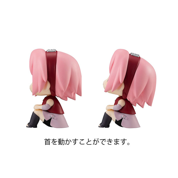 Sakura Haruno & Hinata Hyuga Look Up Series Naruto Figure Set With Gift