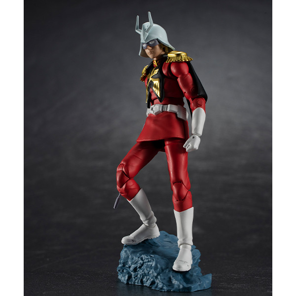 Char Aznable Zeon Army Soldier 06 G.M.G. Mobile Suit Gundam Action Figure