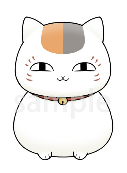 Nyanko-Sensei Natsume's Book of Friends Chokorin Mascot Figure Set