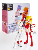 Asuka and Rei grimrock Mix Edition Neon Genesis Evangelion Figures