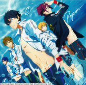 Rage On Free! Anime Ver Jacket CD (Import)
