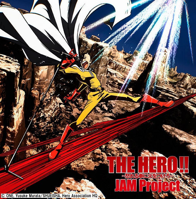 THE HERO!! Ikareru Kobushini Hiwo Tsukero One-Punch Man Anime ver CD (Import)
