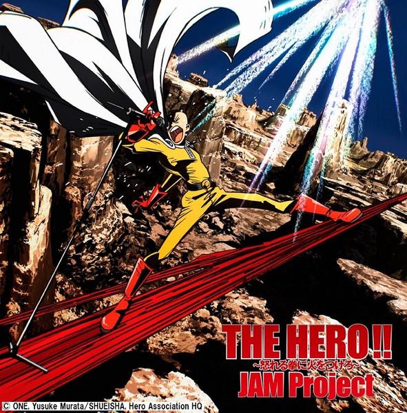 THE HERO!! Ikareru Kobushini Hiwo Tsukero One-Punch Man Anime ver CD (Import)
