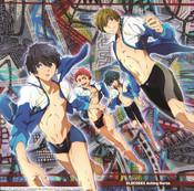 Aching Horns High Speed Free! Starting Days Anime Ver Jacket CD (Import)