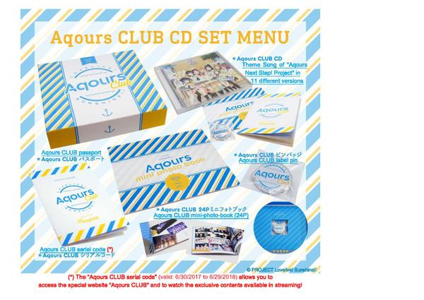Aqours CLUB Love Live! Sunshine!! CD (Import)