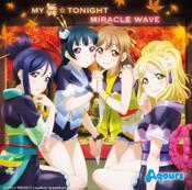 MY Mai TONIGHT MIRACLE WAVE Aqours Love Live! Sunshine!! CD (Import)