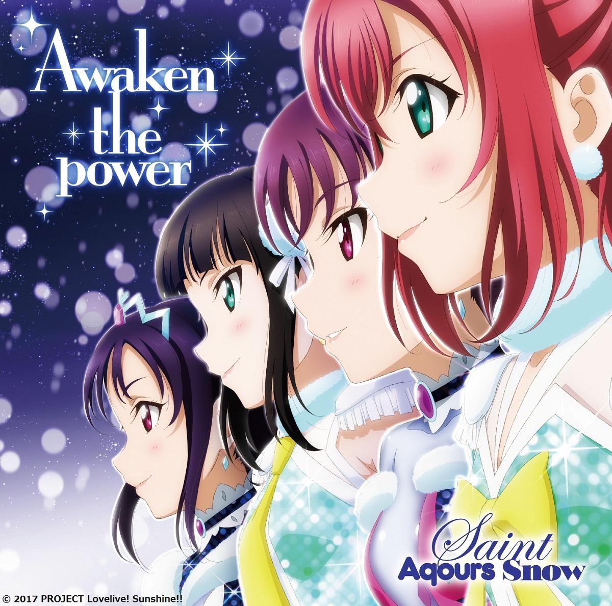 Awaken the Power Saint Aqours Snow Love Live! Sunshine!! CD (Import)
