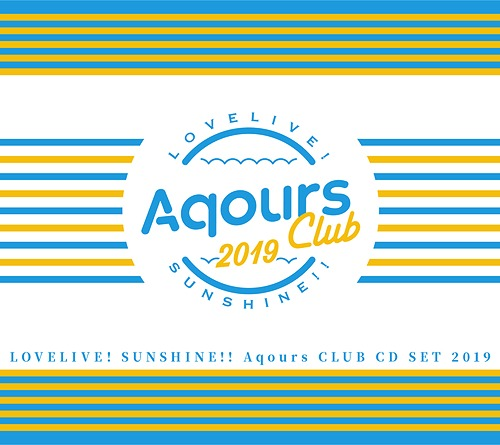 Aquors CLUB SET 2019 Love Live! Sunshine!! CD (Import)