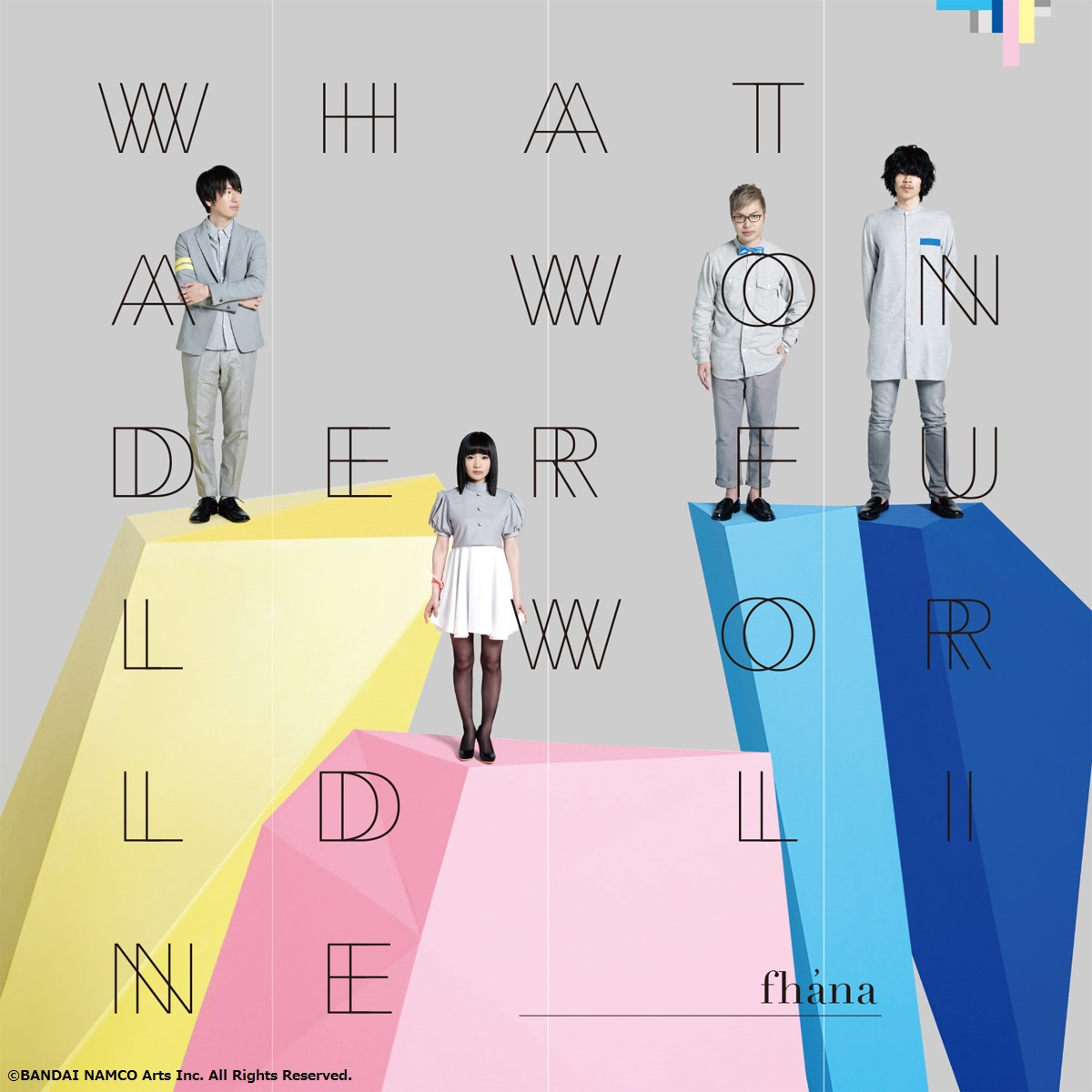 What a Wonderful World Line Standard Edition Fhána CD (Import)