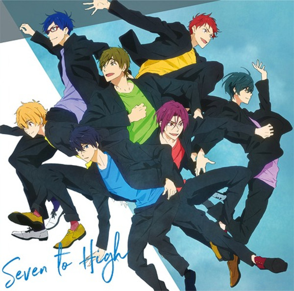 Seven to High Vol 1 Mini Character Song Album Free! Dive to the Future CD (Import)